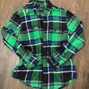 AE flannel shirt. Worn once. Buy3items, $5each